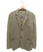 YohjiYamamoto pour homme(ヨウジヤマモトプールオム)の古着「切替ジャケット」|ベージュ