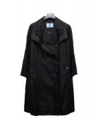 PRADA(プラダ)の古着「トレンチコート」|ブラック