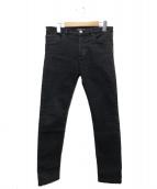 BALENCIAGA(バレンシアガ)の古着「スキニーパンツ」 ブラック