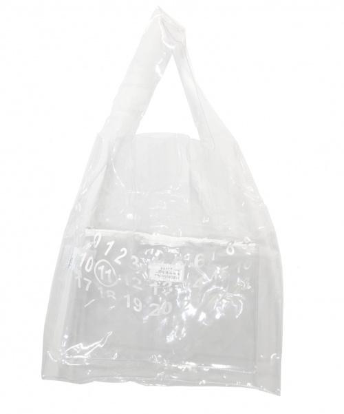 Maison Margiela(メゾンマルジェラ)Maison Margiela (メゾンマルジェラ) PVCトートバッグ サイズ:下記参照 S35WC0072 PS386 19SSの古着・服飾アイテム