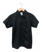 BLACK COMME des GARCONS×NIKE(ブラックコムデギャルソン×ナイキ)の古着「コラボポロシャツ」|ブラック