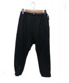 GANRYU(ガンリュウ)の古着「サルエルパンツ」|ブラック
