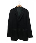 Y's(ワイズ)の古着「ウールテーラードジャケット」|ブラック