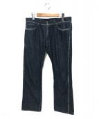 ISSEY MIYAKE MEN(イッセイミヤケメン)の古着「デニムパンツ」|ブルー