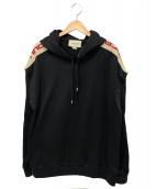 GUCCI(グッチ)の古着「テクニカルジャージースウェットシャツ」|ブラック
