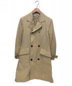 YOHJI YAMAMOTO(ヨウジヤマモト)の古着「コットントレンチコート」|ベージュ