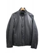 KURO(クロ)の古着「カウレザージャケット」|ブラック