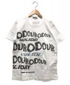 COMME des GARCONS(コムデギャルソン)の古着「プリントTシャツ」|ホワイト