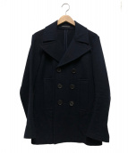 YOHJI YAMAMOTO FEMME(ヨウジヤマモトファム)の古着「Pコート」|ネイビー