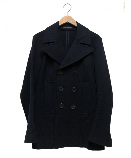 Yohji Yamamoto FEMME(ヨウジヤマモトファム)YOHJI YAMAMOTO FEMME (ヨウジヤマモトファム) Pコート ネイビー サイズ:1 FC-C09-105の古着・服飾アイテム