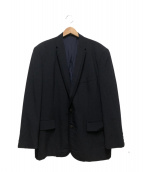 COMME des GARCONS HommePlus(コムデギャルソンオムプリュス)の古着「パイピングジャケット」|ネイビー