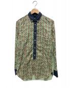 JUNYA WATANABE MAN(ジュンヤワタナベ マン)の古着「プルオーバーシャツ」|グリーン