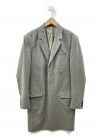 ALL SAINTS(オールセインツ)の古着「チェスターコート」|グレー