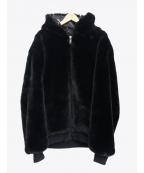 DANKE SCHON(ダンケ シェーン)の古着「ファーブルゾン」|ブラック