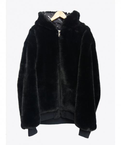Danke schon(ダンケシェーン)Danke schon (ダンケシェーン) ファーブルゾン ブラック サイズ:F 19A-BSL036-DS Fur Blousonの古着・服飾アイテム