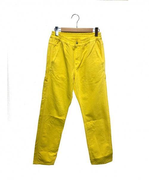 CarHartt × BRAIN-DEAD(カーハート × ブレインデッド)CarHartt × BRAIN-DEAD (カーハート × ブレインデッド) ワイドパンツ イエロー サイズ:Sの古着・服飾アイテム