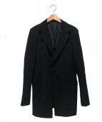 Y's(ワイズ)の古着「ウールギャバ2Bジャケット」|ブラック