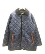 LAVENHAM(ラベンハム)の古着「ウェストンキルティングジャケット」|ネイビー