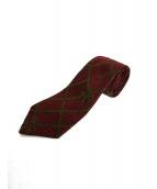 CHANEL(シャネル)の古着「リボン柄ネクタイ」|レッド
