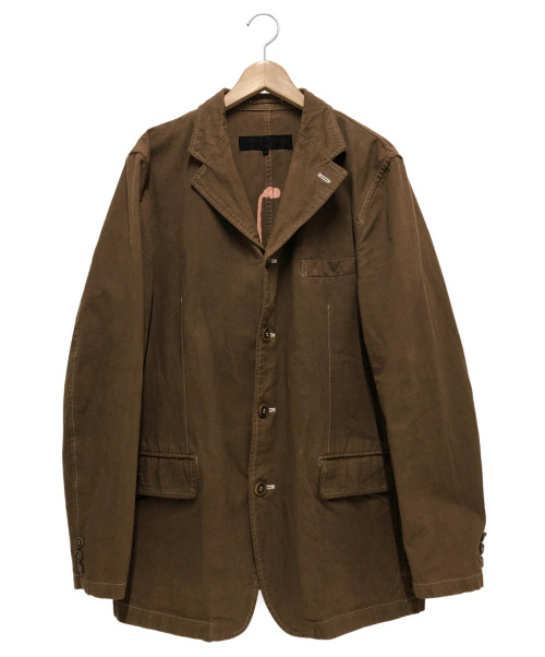 COMME des GARCONS HOMME(コムデギャルソンオム)COMME des GARCONS HOMME (コムデギャルソンオム) リバーシブルコットンジャケット ブラウン サイズ:L HI-J023 2003SSの古着・服飾アイテム