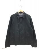 COMME des GARCONS HOMME(コムデギャルソンオム)の古着「リバーシブルシアサッカージャケット」 ブラック×グレー