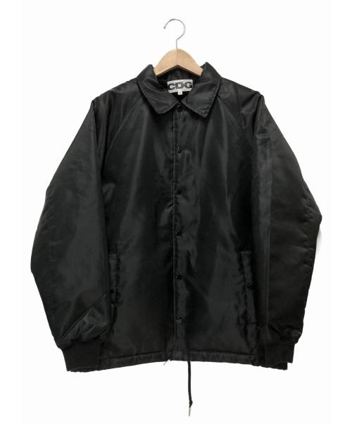 CDG(シーディージー)CDG (シーディージー) 裏ボアコーチジャケット ブラック サイズ:S SZ-J007 2018AWの古着・服飾アイテム