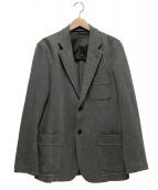 ISSEY MIYAKE MEN(イッセイミヤケメン)の古着「スウェットテーラードジャケット」 グレー