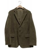 ISSEY MIYAKE(イッセイミヤケ)の古着「テーラードジャケット」|カーキ