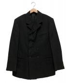 Y's for men(ワイズフォーメン)の古着「4Bダブルジャケット」|ブラック