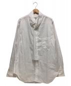 Yohji Yamamoto pour homme(ヨウジヤマモトプールオム)の古着「ストールシャツ」|ホワイト