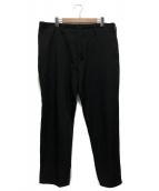 Yohji Yamamoto pour homme(ヨウジヤマモトプールオム)の古着「ウールギャバヒモパンツ」|ブラック