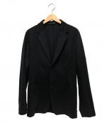 YOHJI YAMAMOTO COSTUME DHOMME(ヨウジヤマモトコスチュームドオム)の古着「ポリテーラードジャケット」|ネイビー