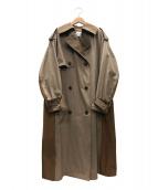 LE CIEL BLEU(ルシェルブルー)の古着「トレンチコート」|ベージュ