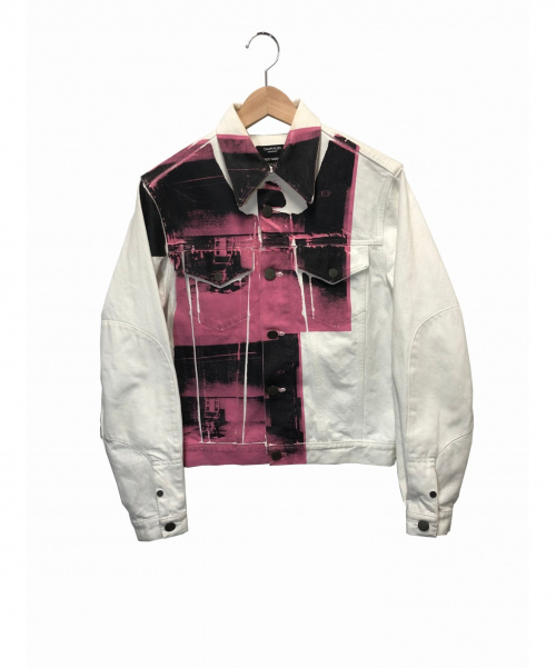 Calvin Klein(カルバンクライン)Calvin Klein (カルバンクライン) デニムジャケット ホワイト サイズ:S 205W39NYCの古着・服飾アイテム