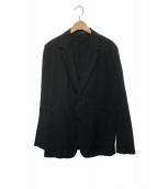 YohjiYamamoto pour homme(ヨウジヤマモトプールオム)の古着「コットンテーラードジャケット」 ブラック