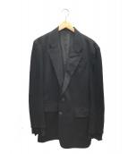 Ys(ワイズ)の古着「切替ウールギャバジャケット」 ブラック