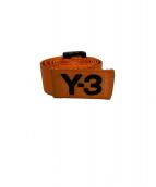 Y-3(ワイスリ)の古着「ベルト」|オレンジ