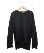 BLACK COMME des GARCONS(ブラックコムデギャルソン)の古着「ウールニット」|ブラック