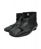 tricot COMME des GARCONS(トリコ コムデギャルソン)の古着「ブーツサンダル」 ブラック