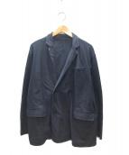 Graphpaper(グラフペーパー)の古着「ダブルブレストテーラードジャケット」|ネイビー