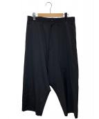 YohjiYamamoto pour homme(ヨウジヤマモトプールオム)の古着「ウールギャバサルエルパンツ」 ブラック