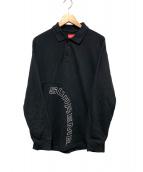 Supreme(シュプリーム)の古着「アーチロゴポロシャツ」|ブラック