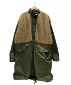 MR.GENTLEMAN(ミスタージェントルマン)の古着「フィールドコート」 オリーブ