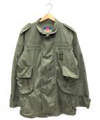 blackmeans(ブラックミーンズ)の古着「ミリタリージャケット」|オリーブ