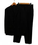 Yohji Yamamoto COSTUME DHOMME(ヨウジヤマモトコスチュームドオム)の古着「ウールセットアップ」|ブラック