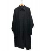 BLACK Scandal Yohji Yamamoto(ブラックスキャンダルヨージヤマモト)の古着「スタッフコート」|ブラック