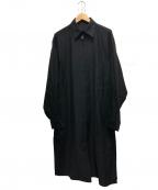 BLACK Scandal Yohji Yamamoto(ブラックスキャンダルヨージヤマモト)の古着「スタッフコート」 ブラック
