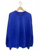 Supreme(シュプリーム)の古着「バッグロゴカットソー」 ブルー