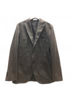 BOGLIOLI(ボリオリ)の古着「2Bジャケット」 ブラウン