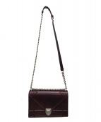 Christian Dior(クリスチャンディオール)の古着「ショルダーバッグ」|ボルドー